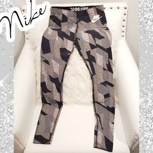 Nike small leggings pattern